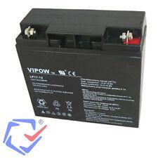 Vipow 12V 17Ah Gel de batterie  motos, quad, jouets, bateaux, caravanes, caisse