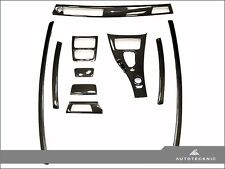 AutoTecknic Replacement Carbon Fiber Interior Trim - 09-13 BMW E92 M3 w/ M-DCT