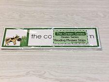 The Green Series - Reading Phrases Strips (24 Strips) Montessori Deluxe Set