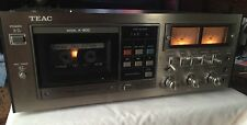 """TEAC A-800 STEREO CASSETTE DECK WITH DOLBY SYSTEM """"FOR PARTS OR REPAIR"""""""