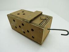 (#1863)  OLD WOOD DUNGENESS CRAB  LOBSTER SHRIMP BAIT TRAP JAR BOX CRAWFISH
