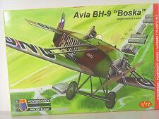 """Avia BH-9  """"Boska""""   -  Kovozavody Flugzeug  Bausatz 1:72 - 0077  #E"""