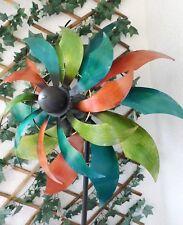 Deko Windrad FLOWER, Windmühle, Ø59x28x↨228 cm Windspiel, Gartenstecker*********