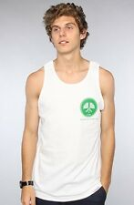 Diamond Supply Co. Country Club Tank in White L Large Green