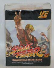 Street Fighter Ken Starter Deck NEW 2006 UFS Collectible Card Game CCG Capcom