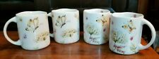 222 Fifth Butterfly Fantasy Coffee Mugs Set of 4