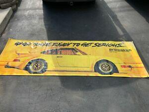 1991 Porsche 911 BF Goodrich Banner Eaglecraft 9 FEET BY 3 FEET