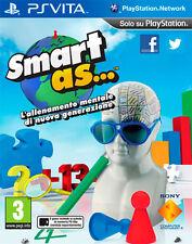 Smart As... Allenamento Mentale Di Nuova Generazione SONY PS VITA IT IMPORT