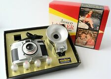 Ansco Lancer / Bilora Mid Century Camera Outfit, Original Box, West Germany