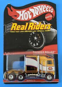 HOT WHEELS RLC 2014  REAL RIDERS SERIES 13 THUNDER ROLLER