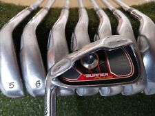 Taylormade Burner Plus Iron Set 4-PW,SW Steel Shaft Regular Flex Left Handed LH