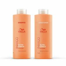 Wella Invigo Nutri Enrich Shampoo 1000ml & Conditioner 1000ml
