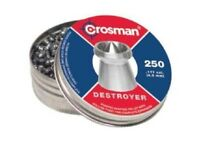 Crosman DS177 Destroyer Pointed Dished Rim .177 Hunting Pellets 250 Count Tin
