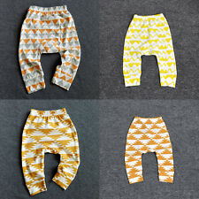 1pcs Kids Baby Boys Girls Bottoms Haren Leggings Pants Kids Toddler Trousers AU