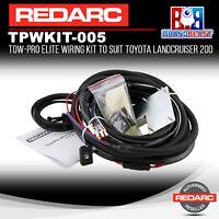Redarc TPWKIT-005 Wiring Kit Tow-Pro Elite Toyota LandCruiser 200