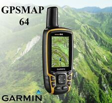 Garmin GPSMAP 64 010-01199-00 Handheld GPS&GLONASS Receiver Navigator 4GB Memory
