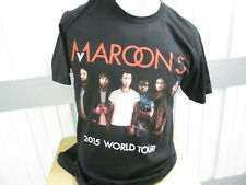 Vintage American Apparel Maroon 5 2015 World Tour Large Shirt Preowned Adam Levi