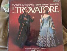 Il Verdi Trovatore: Pavarotti • Sutherland • Horne • Wixell • Ghiaurov- Sealed