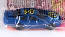 Hot Wheels Promo McDonalds Happy Meal NASCAR Mac Tonight #6 Blue 1998 NIP