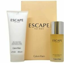Calvin Klein Escape 2pcs Gift Set for Men 100% NIB Authentic box damaged