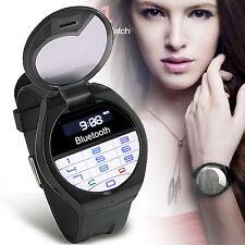 NEW!!! Innovative Bluetooth Smart Watch Detachable Mini Flip Phone Time CallerID