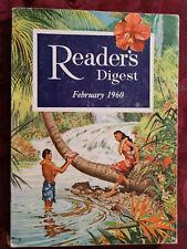 Readers Digest February 1960 Vance Packard Margaret Sanger Wolfgang Langewiesche