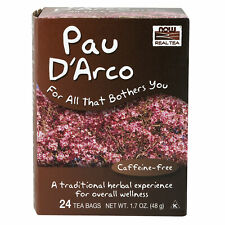 Pau D'arco Lapacho Bark 24 Tea Bags | Digestive Detox Immune Support Candida