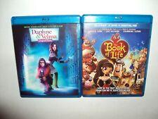 DAPHNE & VELMA/The Book of Life (Blu-ray/DVDS,2-Disc Sets 2 Family  Movies