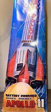 Nomura Apollo 11 Battery Operated Space Rocket Vintage Tokyo