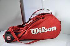 Wilson Tour Red & White  Tennis Racquet Bag