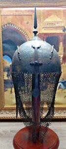 Antique Khula Khud helmet Persian no shamshir
