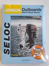 JOHNSON OUTBOARD SERVICE REPAIR MANUAL 2002-2007 3.5 HP TO 250 HP SELOC 1314