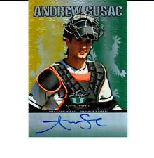 2011 Leaf Valiant Draft #VA-AS1 Andrew Susac - San Francisco Giants Autograph