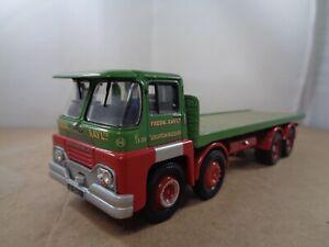 Corgi no.11704 Guy Invincible `FREDERICK RAY LTD` Flatbed Truck In Green.1:50