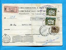 COMMEMORATIVI USATI COME SEGNATASSE - 1958 X ANNALE COSTITUZ. £.25   (218960)