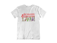 Dungeons and Dragons Cartoon 80's inspired Retro Style T-Shirt