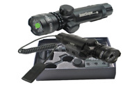 Puntatore Precisione Laser Mirino per Fucile Pistola Caccia Softair Colore Verde