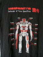MIRANTIS MARANTIS Open Stock Robot Tee t-shirt Black Mens coding graphic