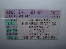 Pigface 1994 Concert Ticket Stub Rochester Ny Trent Reznor Nin Rare Ministry