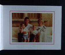1987 PRINCESS DIANA PRINCE CHARLES SIGNED AUTOGRAPH Christmas card