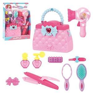 kids beauty princess pretend hairdresser sets girls makeup set toy hair dryer