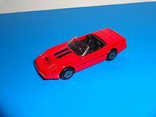 Maisto 1 Loose Chevrolet Corvette Convertible Red w/ Metal Base