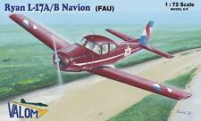 Valom 1/72 Model Kit 72108 Ryan L-17A/B Navion (Uruquay)