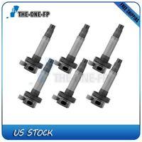pack of 6 Ignition Coils For Ford Lincoln Mazda 3.7L 3.5L V6 Uf553 DG520 C1595