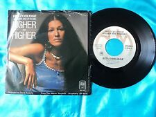 """RITA COOLIDGE Higher And Higher 7"""" B/w Who's To Bless And Who's To Blame ~ EX+"""
