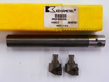KENNAMETAL, 20 mm CARBIDE BORING BAR WITH TWO (2) BORING HEADS    D164