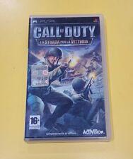 Call of Duty La Strada per la Vittoria GIOCO PSP VERSIONE ITALIANA