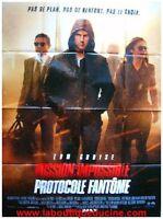Mission Impossible 4 / Ghost Protocol Plakat Kino / Movie Plakat Tom