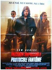 Mission Impossible 4 / Ghost Protocol Poster Cinema/Movie to Be Sent Tom Cruise