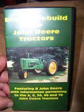 John Deere vintage tractors engine rebuild video